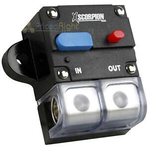 12V 300 Amp Circuit Breaker CB-300TB 1 2 4 Gauge In Out Terminal Block Reset