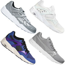 Puma trinomic Blaze cortos señora caballero zapatos zapatillas Weiss lila gris NUEVO