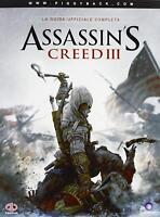 Guida strategia ufficiale in italiano copertina morbida ASSASSIN'S CREED III 3