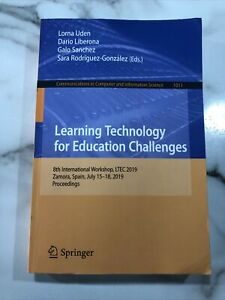 Learning Technology for Education Challenges (English) Paperback Book Free Shipp