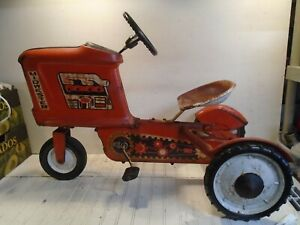 AMF Pedal Tractor - Midwester Chain Drive Vintage 1960s
