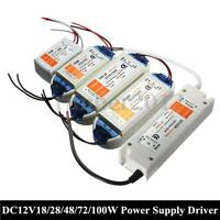 DC12V to AC90-240V Power Supply Transformer Driver Adapter For LED Strip Light