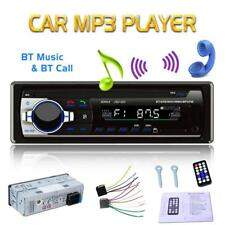 Car In-Dash Stereo Audio Bluetooth Aux Input Receiver IT USB FM Radio MP3 Player