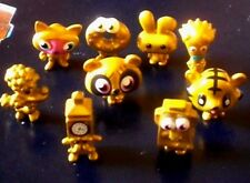 9 x  MOSHI MONSTERS GOLD COLLECTION - VGC BULK LOT