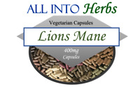 Lions Mane Mushroom 100 Vegetarian Capsules