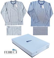 Ferrucci. Pajamas Long, Man, Mod. Seraph in 100% Cotton. Art. 3501 Lagos