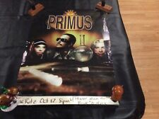 Primus concert promotional double sided poster Brown album Claypool