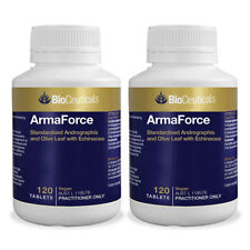 2 X BioCeuticals ArmaForce 120 Tablets Immune Support Common Cold Relief