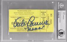 VICKI LAWRENCE Signed MAMA'S FAMILY Original TV Ticket Rue McClanahan BECKETT