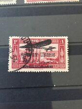 Lebanon Error Stamp Grand Liban Overprint N Instead Of U Used
