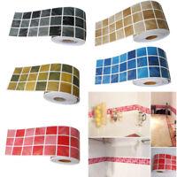 10x100cm Mosaic Self Adhesive Wall Tile Sticker Decal DIY Home Kitchen Decor