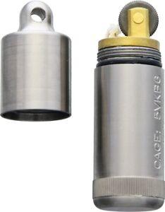 Maratac Peanut XL Lighter Titanium Made in USA MAR001