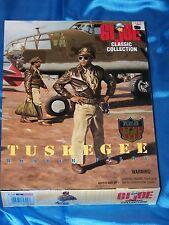 "G.I. JOE: TUSKEGEE Bomber Pilot, 11"" African American Figure  1996 NEW IN BOX!"