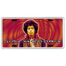 Jimi Hendrix - Psychedelic - License Plate