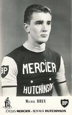 Carte Mercier de Michel Brux 1965