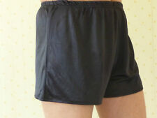 """6 Pairs of Small Black Boxers in Simplex Nylon Stretch Fabric waist size 28""""/32"""""""