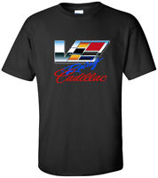 2019 TOUR USA CADILLAC CAR racing LOGO MEN'S t-shirt S - 5XL black