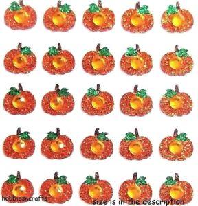 PUMPKIN REPEATS Jolee's Boutique 3-D Glitter Gemstone Stickers Autumn Halloween