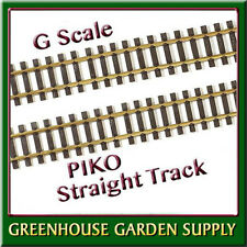 PIKO 35209 BRASS STRAIGHT TRACK G1200 Compatible w/LGB - (PAK Of 6)