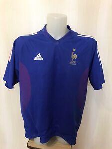 France team 2002/2003/2004 Home Sz 2XL adidas shirt maillot soccer XXL football