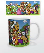 SUPER MARIO CHARACTERS 11 OZ MUG NINTENDO VIDEO GAMES CLASSIC NEW COFFEE WARIO!!