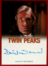 David Lynch's TWIN PEAKS - DAVID WARNER - Personally Signed Autograph Card 2018