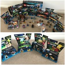 Lego dimensiones Wii U Starter Pack + conjuntos, en caja.