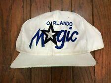 Vintage Orlando Magic Script NBA Snapback Hat Baseball Cap