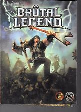 Brutal Legend: Official Game Guide XBOX 360 PS3 PB Prima EA 2009 with Map