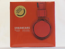 Urbanears Plattan Cuffie pomodoro con Notebook analogico incluso