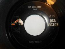 "7""  Elvis Presley - 4xsingles   RCA  usa ..big boss man usw"