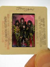 Original Press Promo Slide Negative - Stryper - 1980's