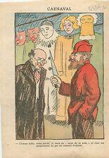 Caricature Anti-Communiste Antisémite Judéo Bolchévique Bolshevik Juif Jew 1936