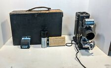 Vintage Society for Visual Education Tri-Purpose Projector,Case & Accessories