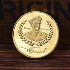 1pc Gold Rommel Gedenkmünze Geschenk .