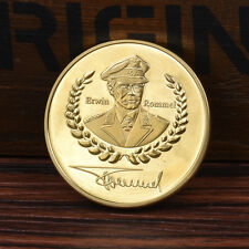 1pc Gold Rommel Gedenkmünze Geschenk Neu