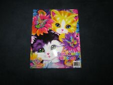 Lisa Frank SUNFLOWER KITTENS Sparkle Glitter Folder