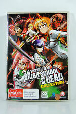 High School of the Dead Collection - Region4 DVD - BRAND NEW