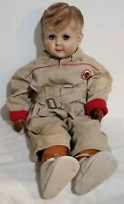 "Vintage American Character 24""Jimmy John Doll Soft Body vinyl arms and legs 1954"