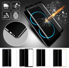 For Samsung Galaxy Note8 S7 S8 S8+Plus 3D Curved Tempered Glass Screen Protector