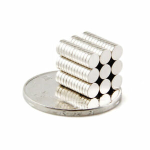 Wholesale 4mm x 1mm Neodymium magnets disc N48 rare earth tiny magnets