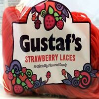 Shoestring Red Strawberry Licorice Laces 2 pounds Gustaf's