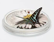 Guinea 2015 1000 Francs Butterflies in 3D - Mariposas Exoticas Silver Coin