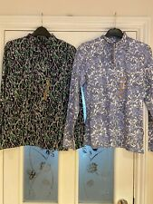 M&S Ladies Clothes Size 10 X2 Fitted Long Sleeved Tops Unworn (87