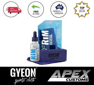 Gyeon Rim Hydrophobic Ceramic Coat Wheels Engine Brake Coating 6 month life