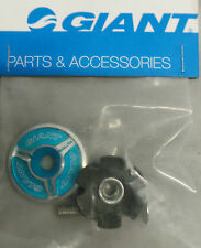 NEW GIANT AQUA HEADSET TOP CAP + BOLT & STAR NUT - ROAD MTB DJ FR DH CX XC BMX