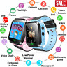 For Kids Child Smart Watch Bluetooth GPS GSM Locator Tracker SOS Call Flashlight