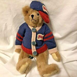 Green Mountain Meyer Carol Carini fully jointed BEAR 1993 college sweater cap