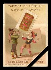 French Trade Card: Original Early 1900's Tapioca De L' Etoile - Paris France