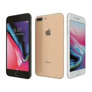 Apple iPhone 8 PLUS - UNLOCKED - 64/256GB - ALL COLOURS - Excellent Condition